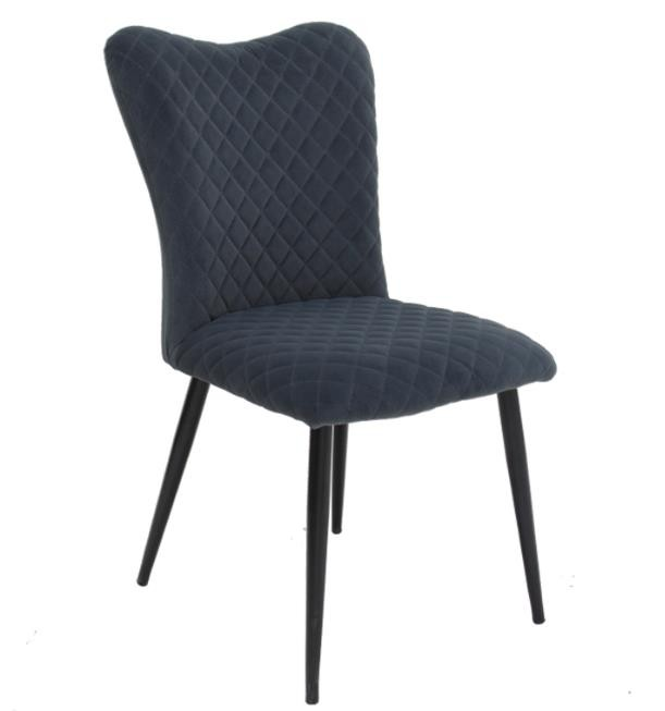DC-2204 Modern Velvet  Metal Legs Dining Room Chairs