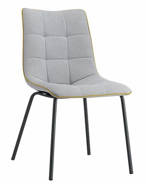 Free Sample Household Furniture Modern Fabric Dining Room Chairs Design